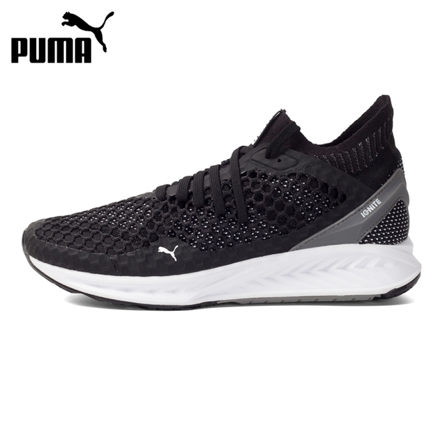 87294d149 Original New Arrival 2017 PUMA IGNITE NETFIT Men's Running Shoes Sneakers