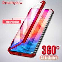 Роскошные 360 Полное покрытие чехол для телефона для redmi 7 6A 5plus 4X Примечание iPhone 7 6 plus 5 iPad pro 5A противоударный чехол Xiaomi Mi 9 Honor 8 lite чехол с Стекло