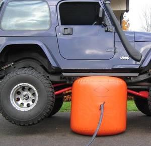 Cric d'air d'échappement et vérin gonflable | De 3 tonnes à 5 pouces (certificat CE)