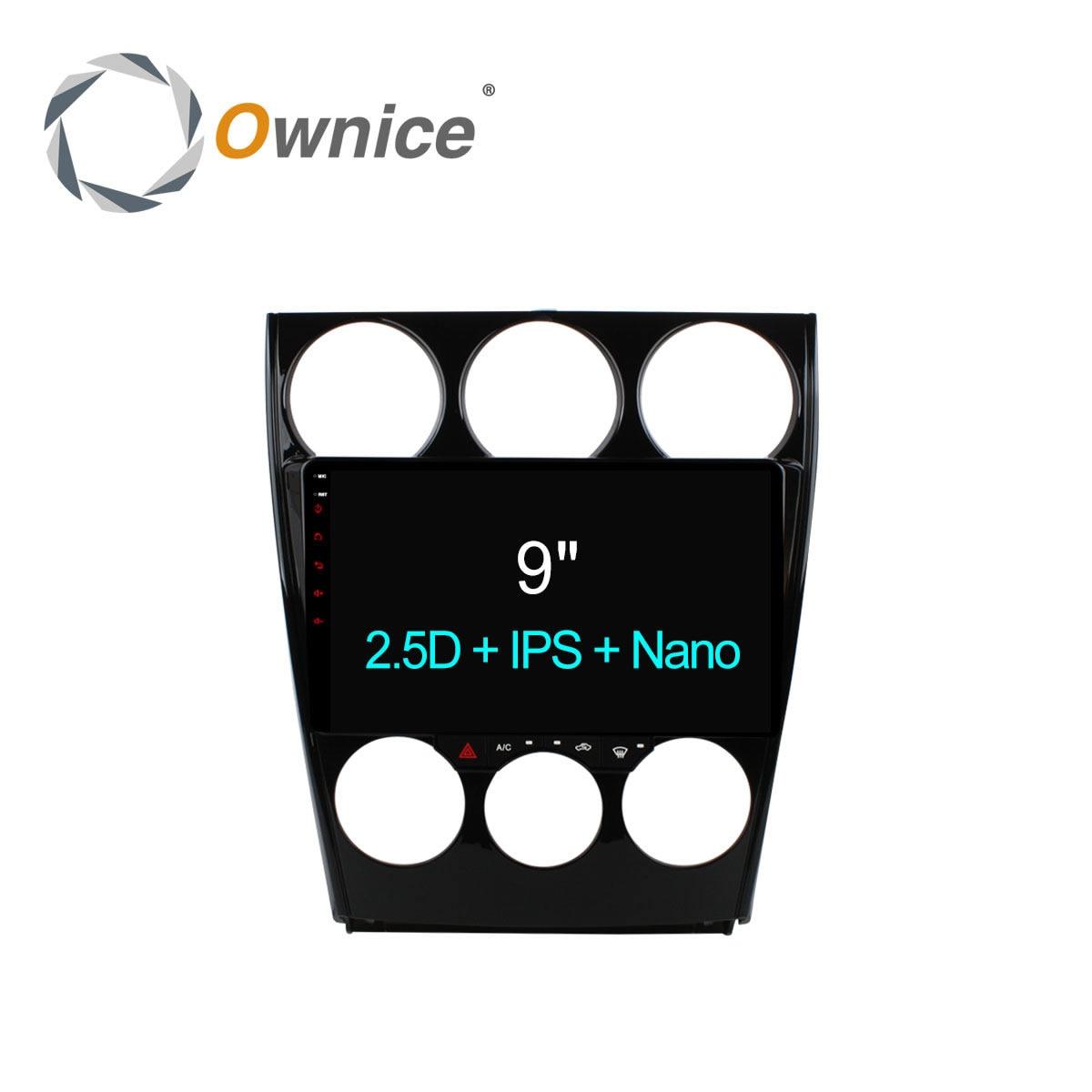 9 дюймов ownice C500 + Android 6.0 dvd-плеер для Mazda 6 2006 2007 2008 2009 2010-2015 GPS навигации Octa core 4 г LTE 32 ГБ