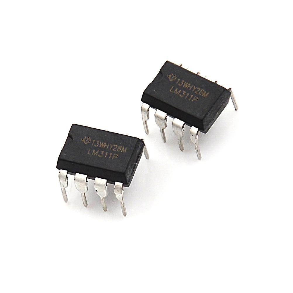 10 X Lm311 Lm311p Ic Voltaje Comparadores
