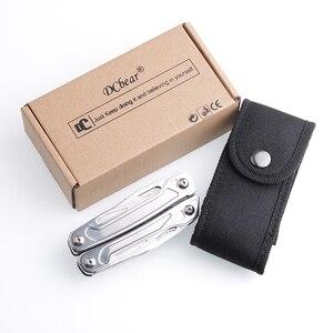Image 5 - Prata DC 034SPL multitool 11 em 1 multi alicate sobrevivência ao ar livre engrenagem dobrável bolso faca alicate chave de fenda kit ferramenta acampamento