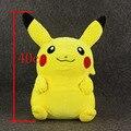"""1 pcs 16 """"40 cm Pikachu de Pelúcia Mochila Saco de Brinquedos de Pelúcia de Alta qualidade DollsFor Criança Grande Presente"""