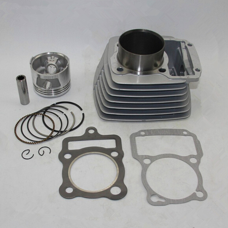 LOPOR <font><b>62mm</b></font> Cylinder KIT & <font><b>Piston</b></font> Set & Gasket All Sets For Honda CG150 150CC CG 150 Motorcycle Air-Cooled image