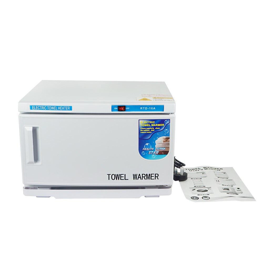 NEW 16L UV Hot Facial Towel Cabinet Sterilizer Disinfection Warmer Tool Beauty 220V