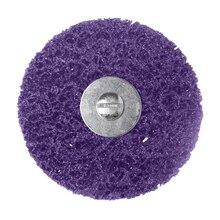 Discos para amoladora angular de limpieza, tira de polietileno, desoxidante, 100mm x 6mm