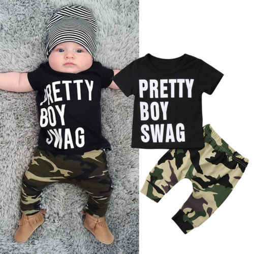 c810b2a5d8f31 Detail Feedback Questions about 2pcs Cool Baby Boy Short Sleeve Swag ...
