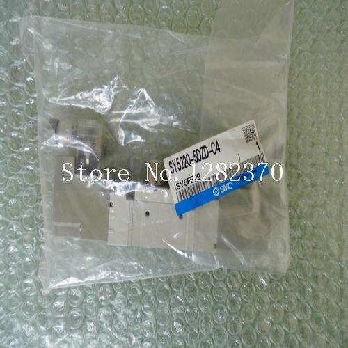 [SA] New Japan genuine original SMC solenoid valve SY5220-5DZD-C4 spot --2PCS/LOT [sa] new japan genuine original smc solenoid valve syj5523 4g c4 spot