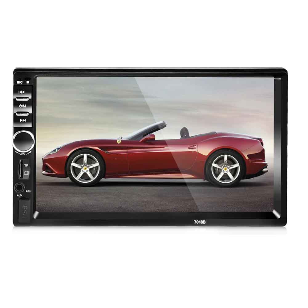 Universal 7 Inch 2 DIN Car font b Audio b font Stereo Player 7018B Touch Screen