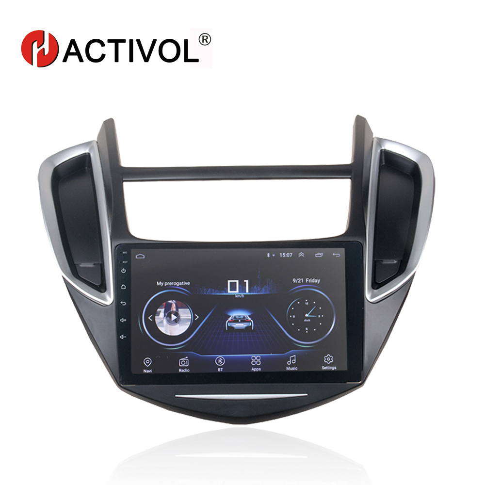 HACTIVOL 9 Quadcore Car radio for Chevrolet Trax 2014 2016 android 8 1 car DVD player