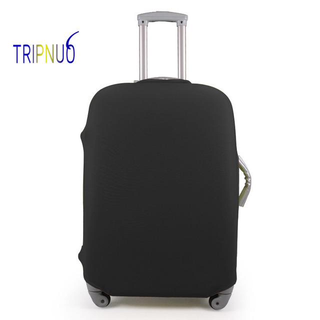 TRIPNUO Black Thin Luggage Cover Travel Bag Cover 18-30 Inch Pink Suitcase Protective Covers Portable Travel Accessories Luggage Covers