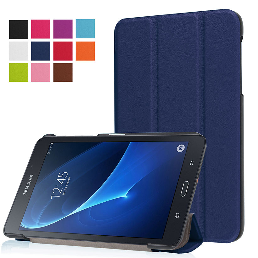 Folio Standı PU Deri Kapak Kılıf Için 2016 Yeni Durumda Samsung - Tablet Aksesuarları - Fotoğraf 4