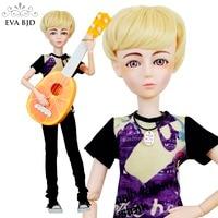 22 Full Set + EVA BJD Doll Play Music Guita Boy Jack SD Doll 56cm Mechanical Joint doll + Accessories Lifestyle Model DIY Toy