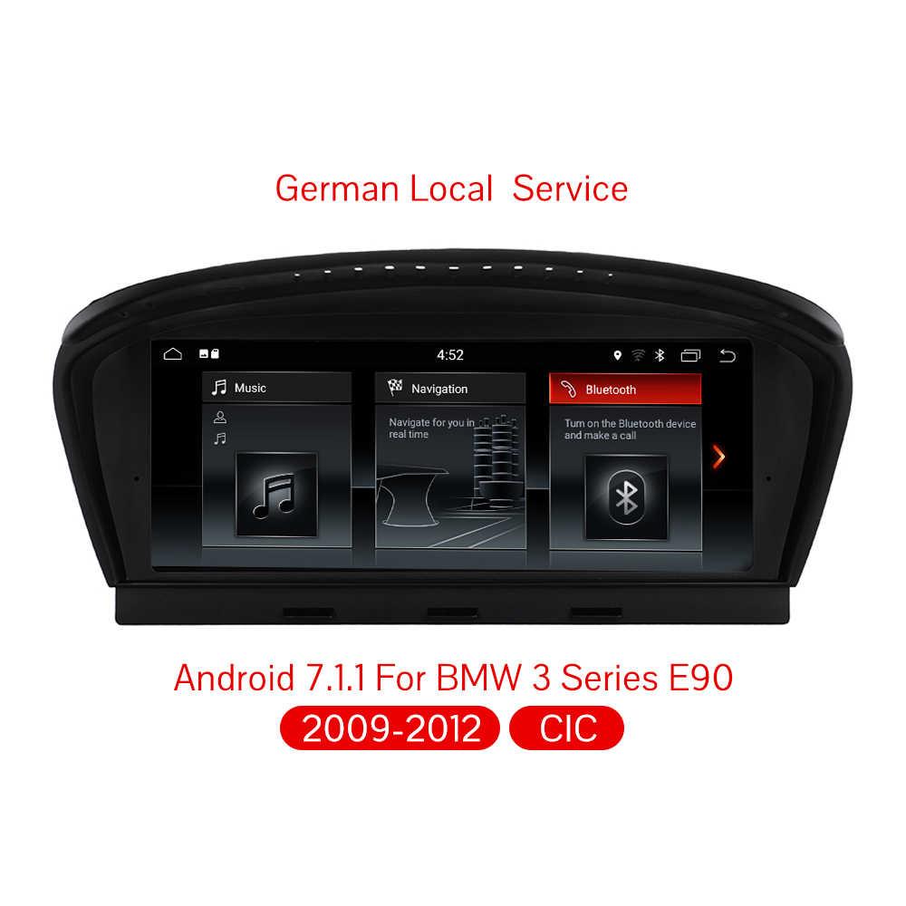 Android 7,1 автомобильный dvd-плеер автомобильный мультимедийный плеер Авто Аудио для BMW 3 серии E90/E60 2009-2011 CIC 32GB gps