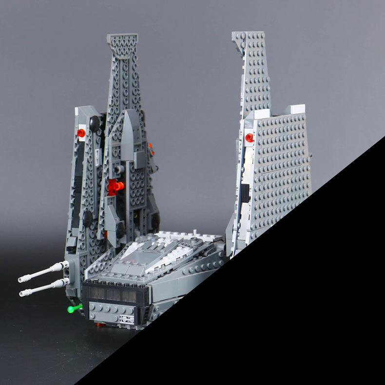 Hot 05006 Star Kylo Ren Command Shuttle LEPIN Building Blocks Educational Toys Compatible with 75104 Lovely Funny Toys wars star wars 75104 командный шаттл кайло рена
