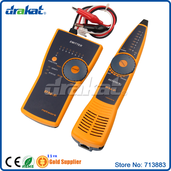 Traqueur de fil de testeur de câble réseau Lan - 2