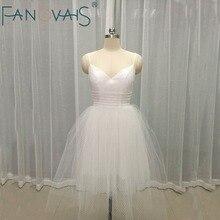 Little White Dress Lace Short Wedding Dresses Sexy Backless Lace Tulle Bottom Bridal Gowns Vestido de Novia Little Black Dress