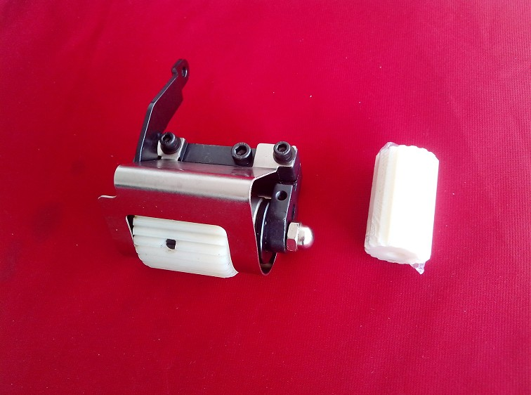 Pièces de machine à coudre dents en caoutchouc dent nylon W600 28 dents arrière remorqueur remorqué par le groupe Pegasus