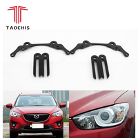 Taochis автомобиль-Стайлинг frame модулем адаптера DIY Кронштейн Держатель для Mazda CX-5 CX5 Hella 3 5 Bi xenon Koito объектив проектора