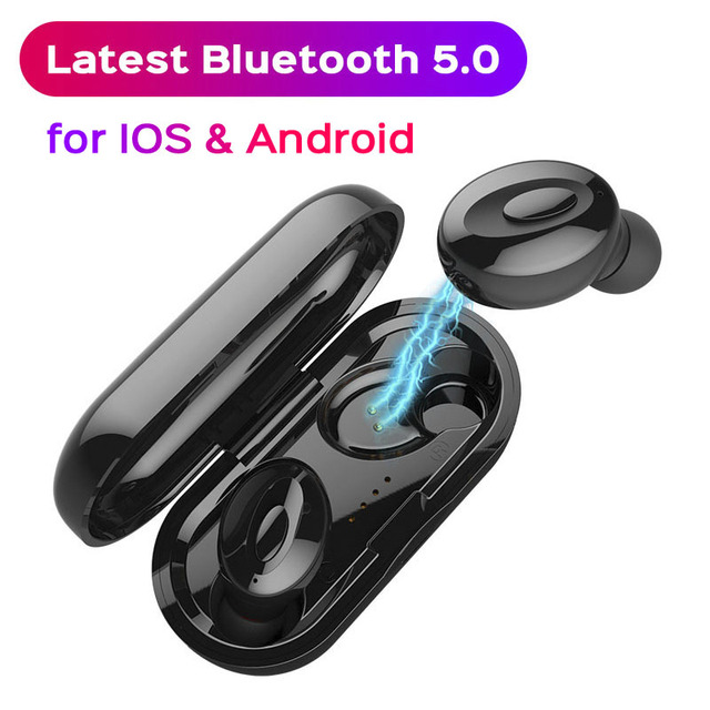 Bluetooth 5 0 Earphones For Xiaomi redmi note 7 mi 9 TWS Wireless Earphone  Oneplus pro iphone x