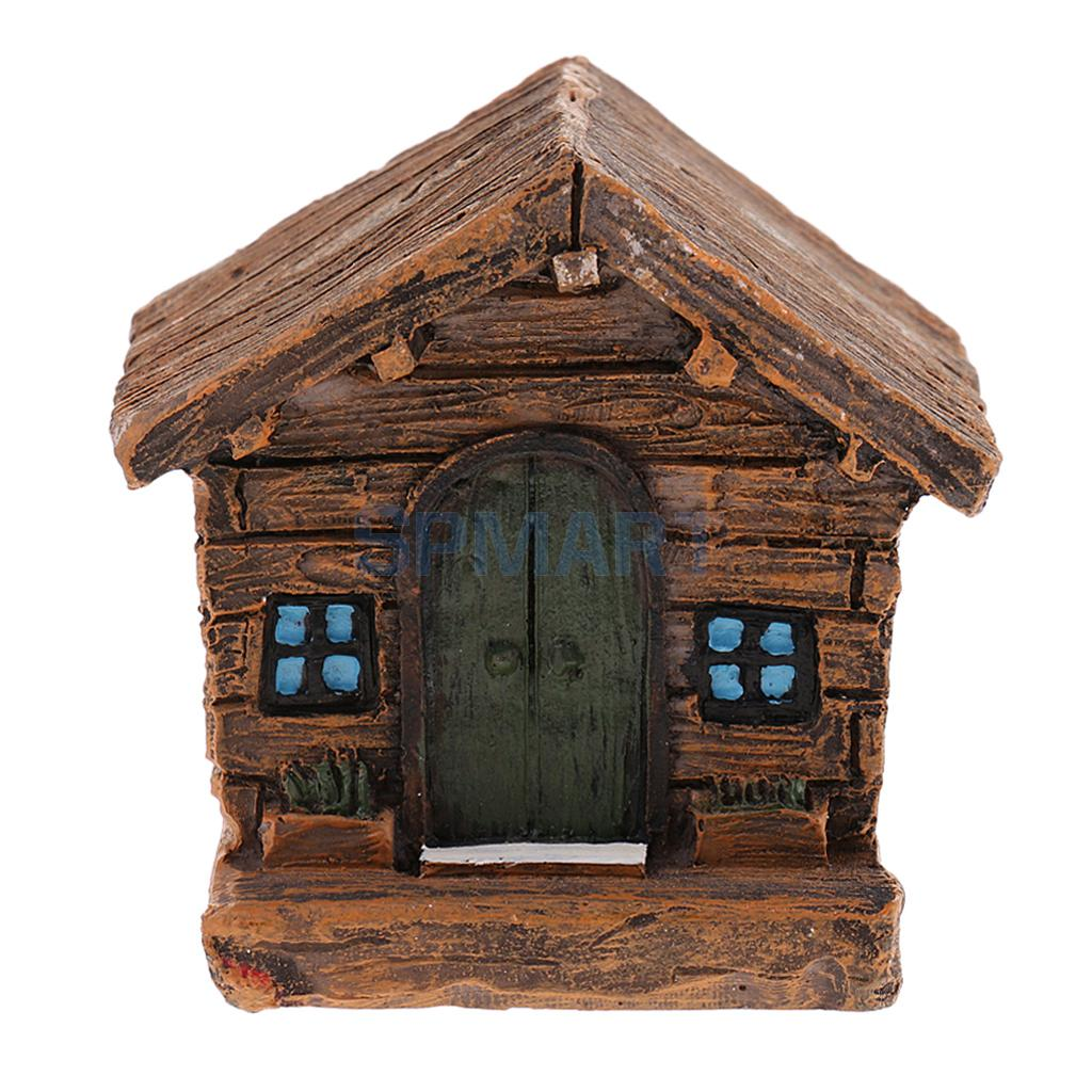 Model Building Kits Ancient House Figurine Minature Model Sand Farmhouse Resin Craft Kids Gift For Girls Boys Toy