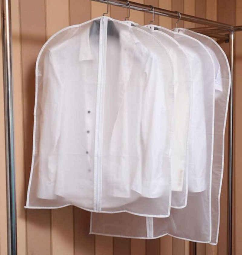 Limit 100 1Pcs Clothes Dust Cover Home Storage Bag for Garment Suit Dress Clothes Coat Pouch Case Container Organizer Storage