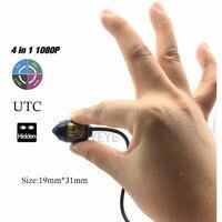 CCTV Micro Bullet Sony IMX323 Senor 2.0MP 1080P Mini Bullet AHD/TVI/CVI/CVBS Camera UTC 4 IN 1 Covert Security Use With Bracket
