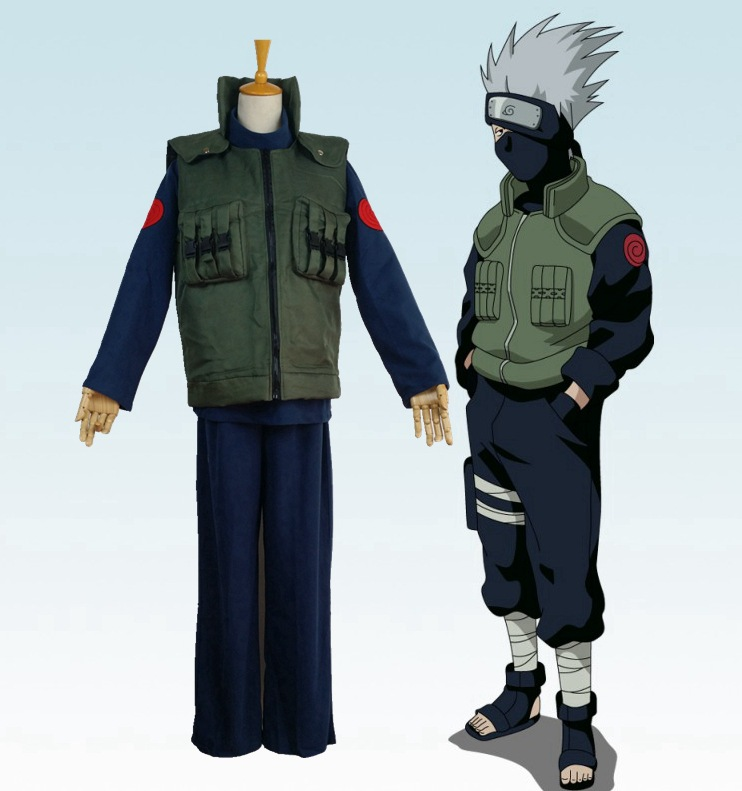 Online Buy Wholesale kakashi cosplay costume from China ...