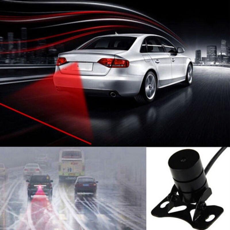 Car Signal Lamp LED Laser Fog Light Rear Anti-Collision Taillight Brake Light External Warning Light