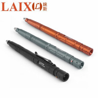 LAIX B007 2 High Brightness LED Tactical Pen Tungsten Steel Self Defense Glass Breaker Outdoor Hiking
