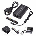 100 W 8 Em 1 Plugue AC para DC no Carro Com Porta USB adaper para acer laptop charger power supply cord para dell notebook pc universal