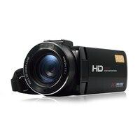 Портативный 1080 P Full HD Цифровая видеокамера Max 24 мега пикселей 16X цифровой зум видеокамера Поддержка Wi Fi