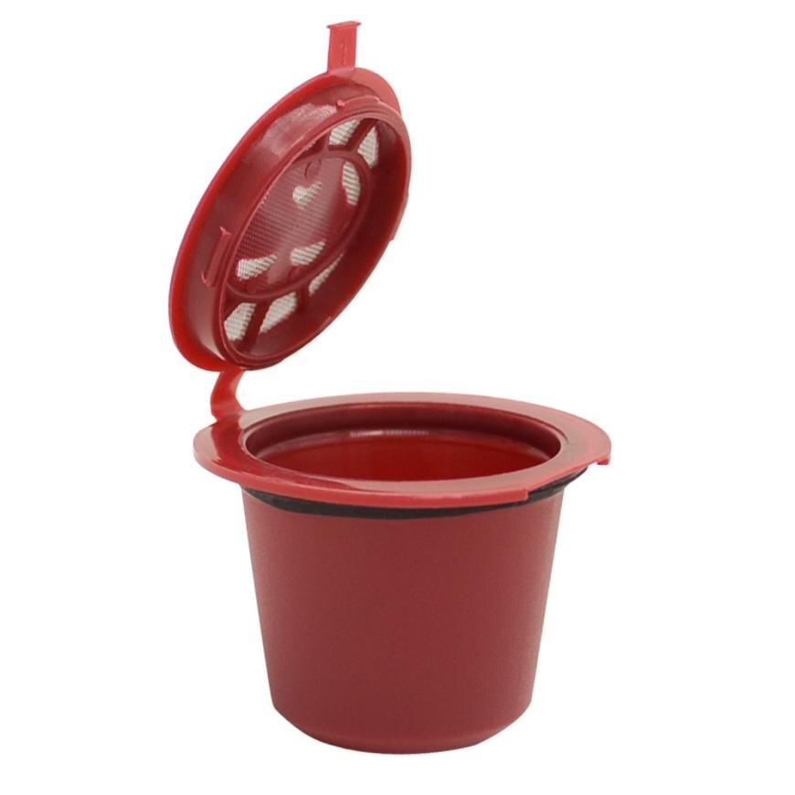 Cápsulas de café reutilizables recargables para máquinas Nespresso filtros accesorios de cocina