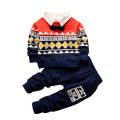 Autumn Children's Set Pullovers+Pants Baby Kids Clothes  Cute 2 Piece Sets Sweatshirts Long Pants Fashion Clothing Sets 4 Colors