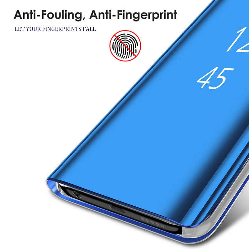 Smart Mirror Flip Case For Huawei P30 P20 Mate 20 10 Pro Lite P Smart 2019 Honor 20 View 20 7C 8X 10 8 9 Lite 9i  Nova 5 3i Case
