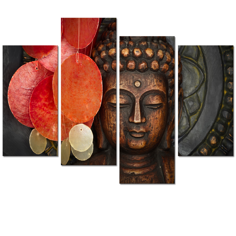 Aliexpress.com : Buy Visual Art Decor Large Buddha Painting Prints Wall Art  Decor No Frame Home Wall Decoration Buddha Poster Canvas Art From Reliable  ...