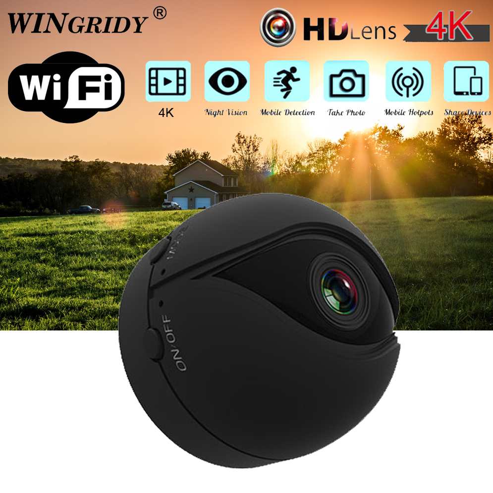 Original V2 P2P IP Mini Cam WIFI Camera FULL HD 4K 1080P Night Vision Motion Detection CMOS Sensor Recorder Camcorder MicroOriginal V2 P2P IP Mini Cam WIFI Camera FULL HD 4K 1080P Night Vision Motion Detection CMOS Sensor Recorder Camcorder Micro
