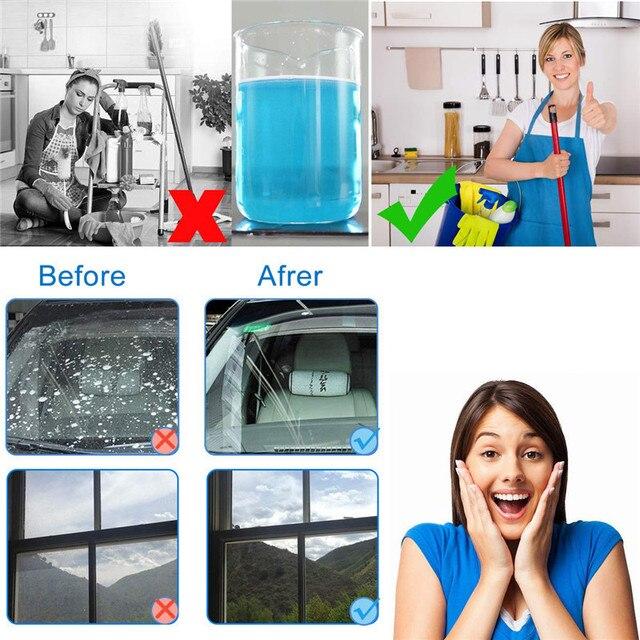 Casa 1 pz = 4L Multifunzionale Effervescenti Spruzzare il Detergente-di Vetro Cl