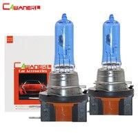 Cawanerl 2 Pieces 55W H15 Halogen Bulb Lamp 4300K Warm White 12V Car Light Source Headlight