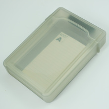 CAA Hot Gray 3.5inch IDE SATA HDD Storage Box Case Enclosures HDD Polypropylene Boxs