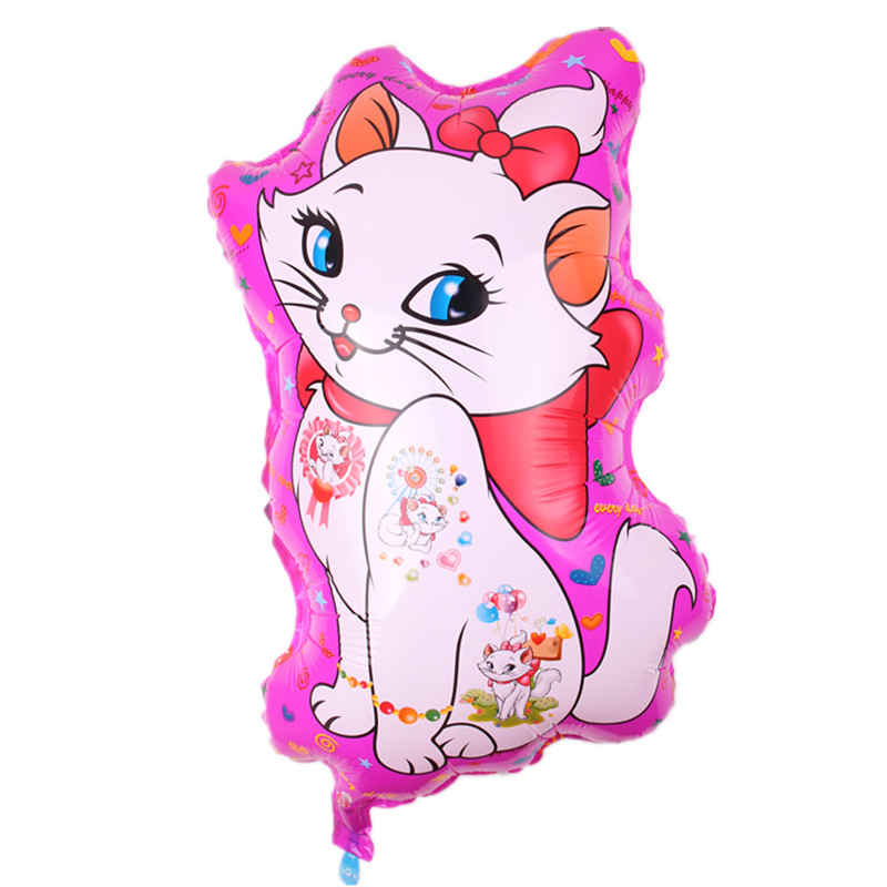 TSZWJ G-091 1pcs new   Cat Aluminum Balloon Party Toy Birthday Party Decorative Balloon