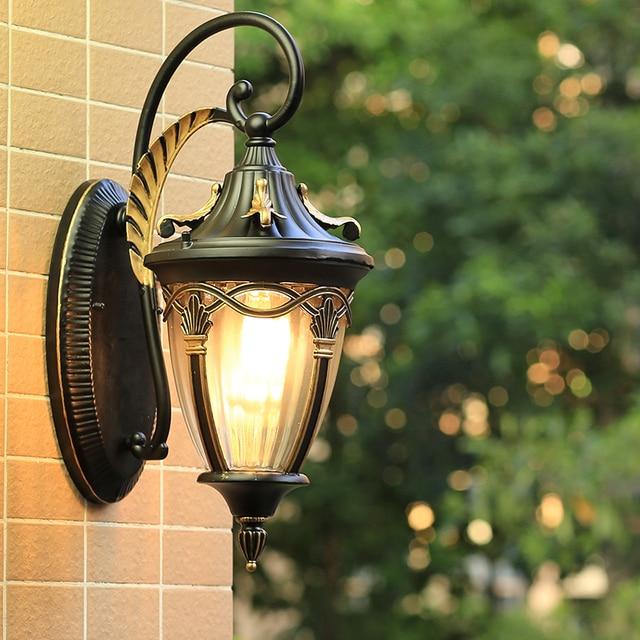 Outdoor light retro wall lamps indoor balcony garden lamp nostalgic ...