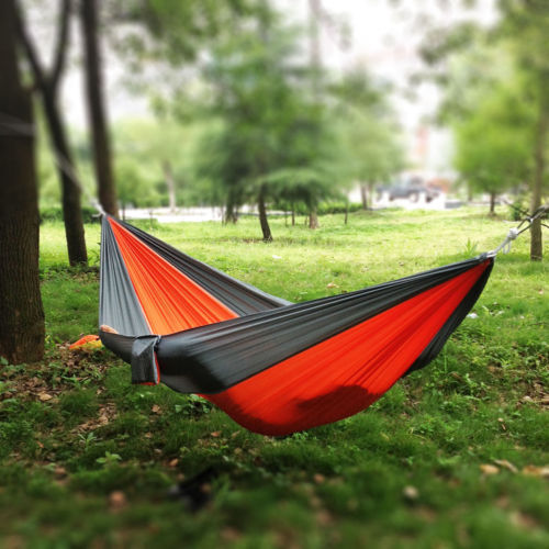 nice brand new portable double person parachute nylon fabric camping hammock chair outdoor garden sleeping hanging nice brand new portable double person parachute nylon fabric      rh   aliexpress