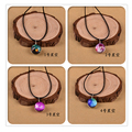 Harajuku Space Nebula Necklace Crystal Ball Universe necklaces Japan and South Korea Style necklace chokers necklace,32 pattern