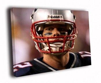 HD Canvas Printings Painting-Tom Brady New England Patriots NFL Football Sport Art D5538