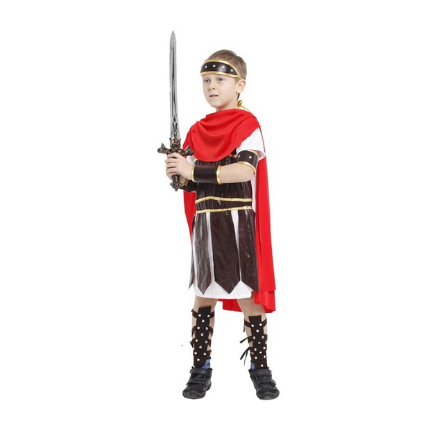 M-XL Fantasia Boys Kids Prince Cosplay Disfraces Roman warrior Gladiator Costume Halloween Costumes for  sc 1 st  AliExpress.com & M XL Fantasia Boys Kids Prince Cosplay Disfraces Roman warrior ...