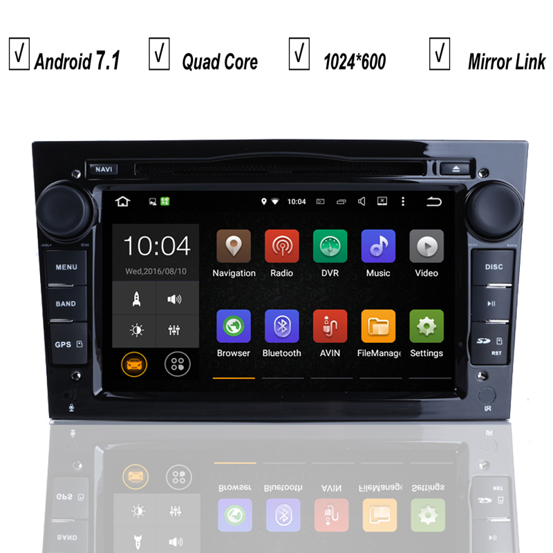 car dvd gps player android 7 1 for opel astra h g j vectra antara zafira corsa vivaro meriva. Black Bedroom Furniture Sets. Home Design Ideas