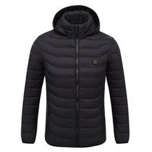 Куртка с электрическим подогревом, одежда для мужчин и женщин, USB, ниже напряжения, регулируемая температура, жилет, теплая зимняя куртка
