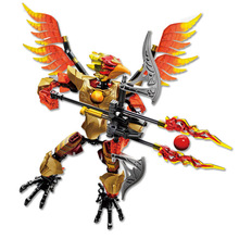 цена на Bionicle Robot Chimo Chi Fluminox 70211 Building Block Toys Gifts Action Figure Compatible With Legoings Chimaed