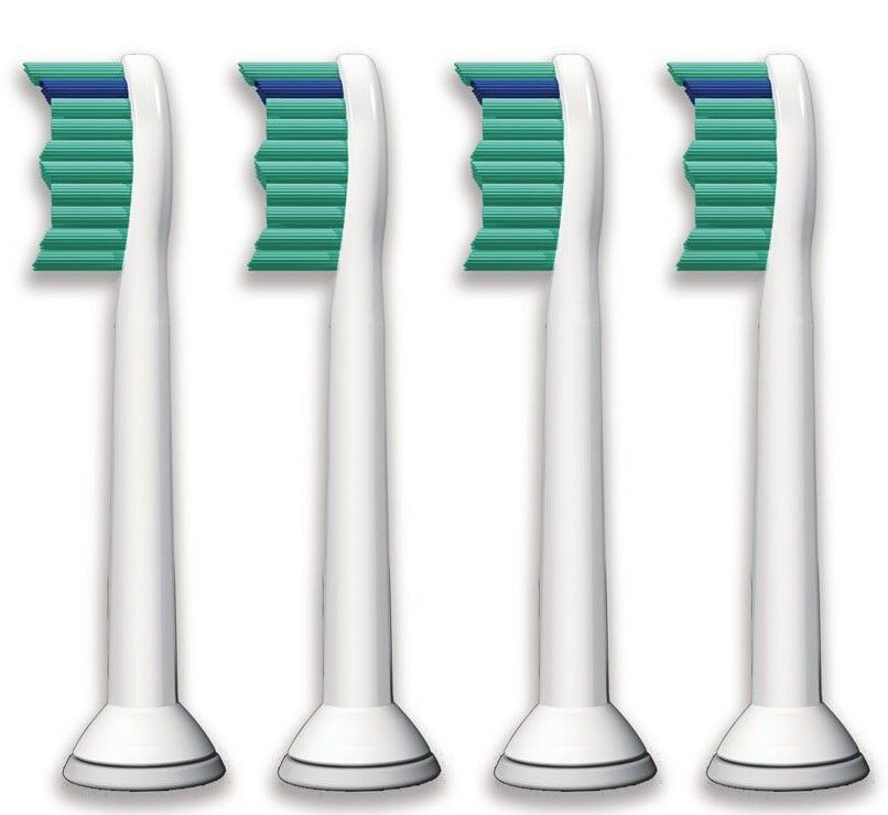4pcs/lot HX6014 Toothbrush Heads for Philips Diamond Clean,FlexCare+,FlexCare Healthy White,Easy Clean,ProResult,Sonicare R710 image